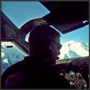Ruth Glacier Landing Denali Alaska